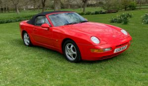 1994 Porsche 968 Cabriolet Registration number L131 XLD Chassis number WP0ZZZ6ZPS830152 Engine