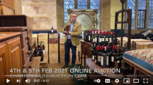 Richard talking about his favourite lots in the auction