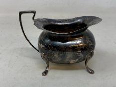 A silver milk jug, Sheffield 1901, 7.0 ozt