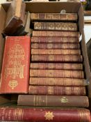 The Holy Bible, containing the Old Testament and The New, 1802, nine vols, gilt dec leather, and