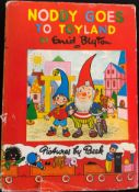 Blyton (Enid), Noddy Goes to Toy Land, 1949, Sampson Low, Marston & Co, No. 1 and the next 23