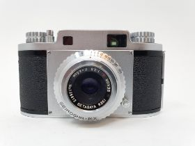 A Mamya-35 camera, serial number 45968 Provenance: Part of a vast single owner collection of
