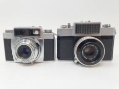 A Nipon Nikkorex camera, serial number 78834 and and Agfa camera (2) Provenance: Part of a vast