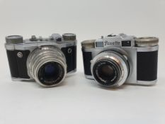 A Braun Paxette camera and a Altix camera (2) Provenance: Part of a vast single owner collection
