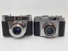 A Kodak Retinette 1 B camera and a Zeiss Ikon camera (2) Provenance: Part of a vast single owner