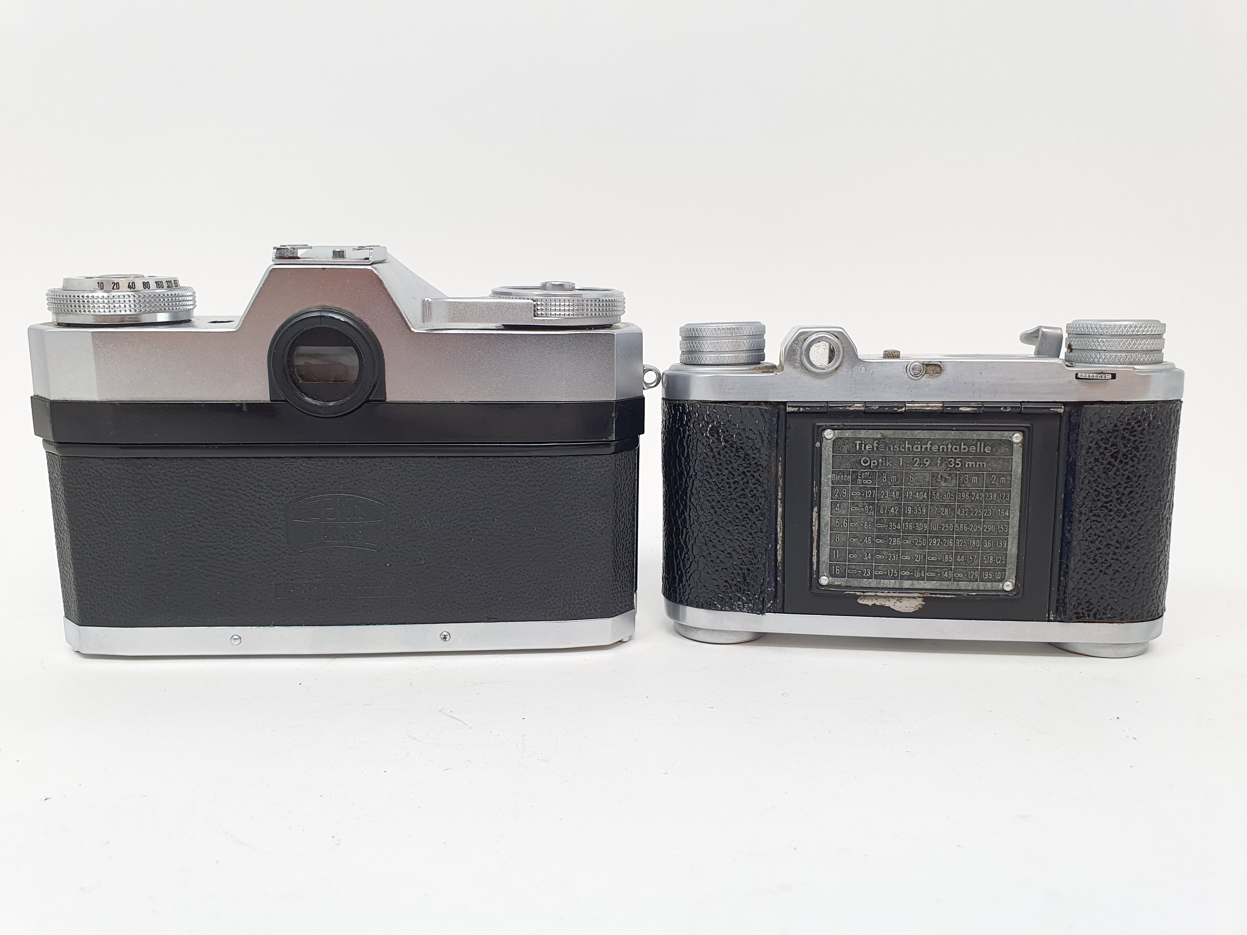 An Altix camera and a Zeiss Ikon camera (2) Provenance: Part of a vast single owner collection of - Image 3 of 3