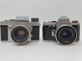 A Topcon RE Super and a Wirgin Adixa camera (2) Provenance: Part of a vast single owner collection