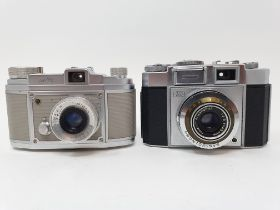 A Zeiss Ikon camera and a Saraber Finetta 88 camera (2) Provenance: Part of a vast single owner