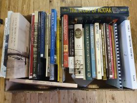 Collins (Douglas) The Story of Kodak and various books on photography (box) Provenance: Part of a