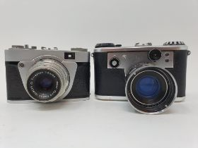A Corfield Periflex camera and an Altix-N camera (2) Provenance: Part of a vast single owner