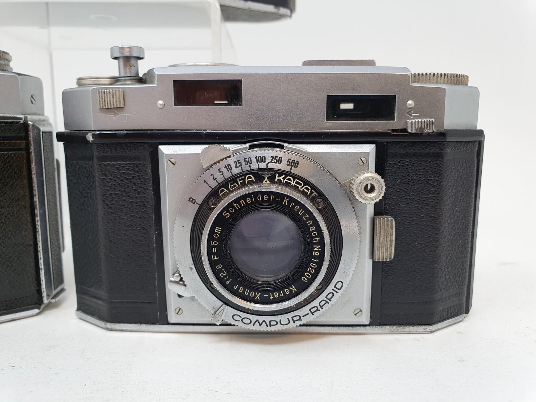 An Exakta camera, Agfa Karat 36 camera and an Agfa camera (3) Provenance: Part of a vast single - Image 3 of 6