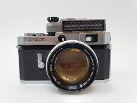 A Canon camera, reference number 610401 Provenance: Part of a vast single owner collection of
