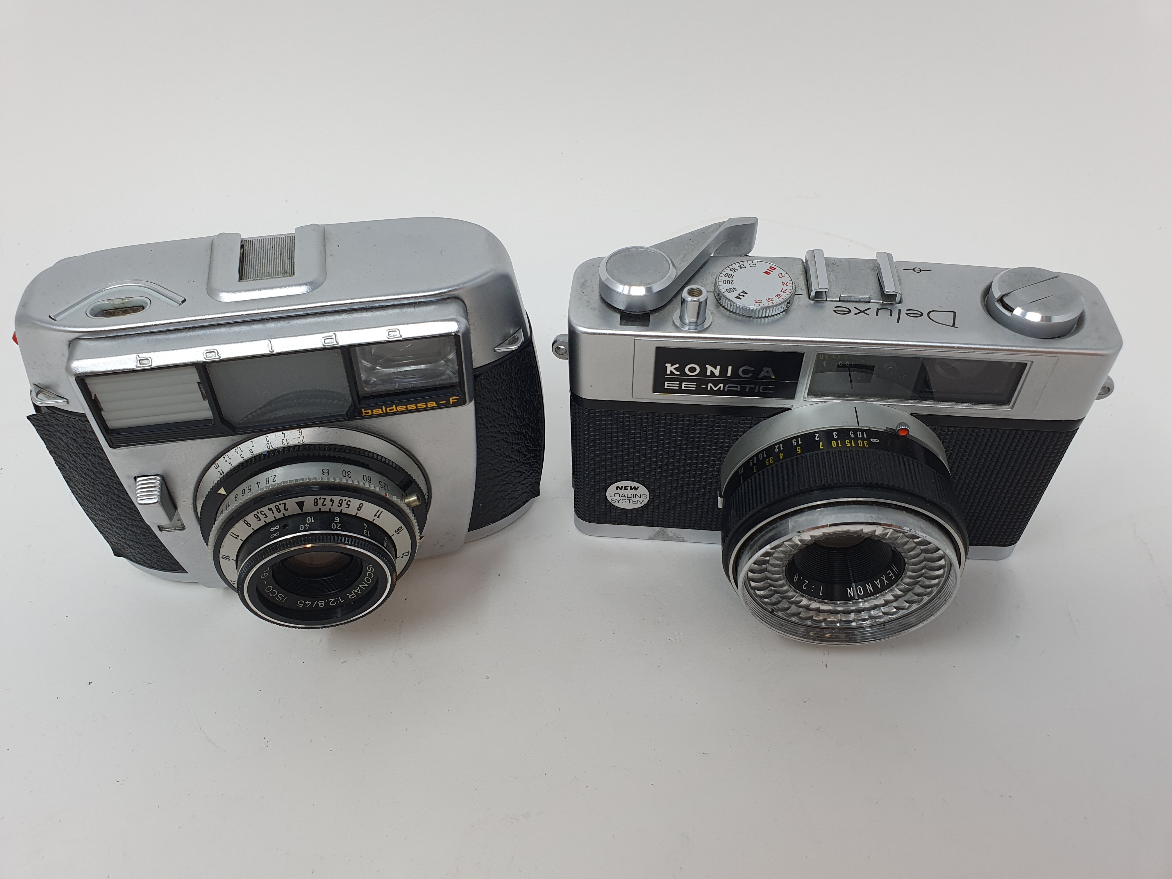 A Baldessa-F camera and a Konica EE-Matic camera (2) Provenance: Part of a vast single owner - Image 2 of 2