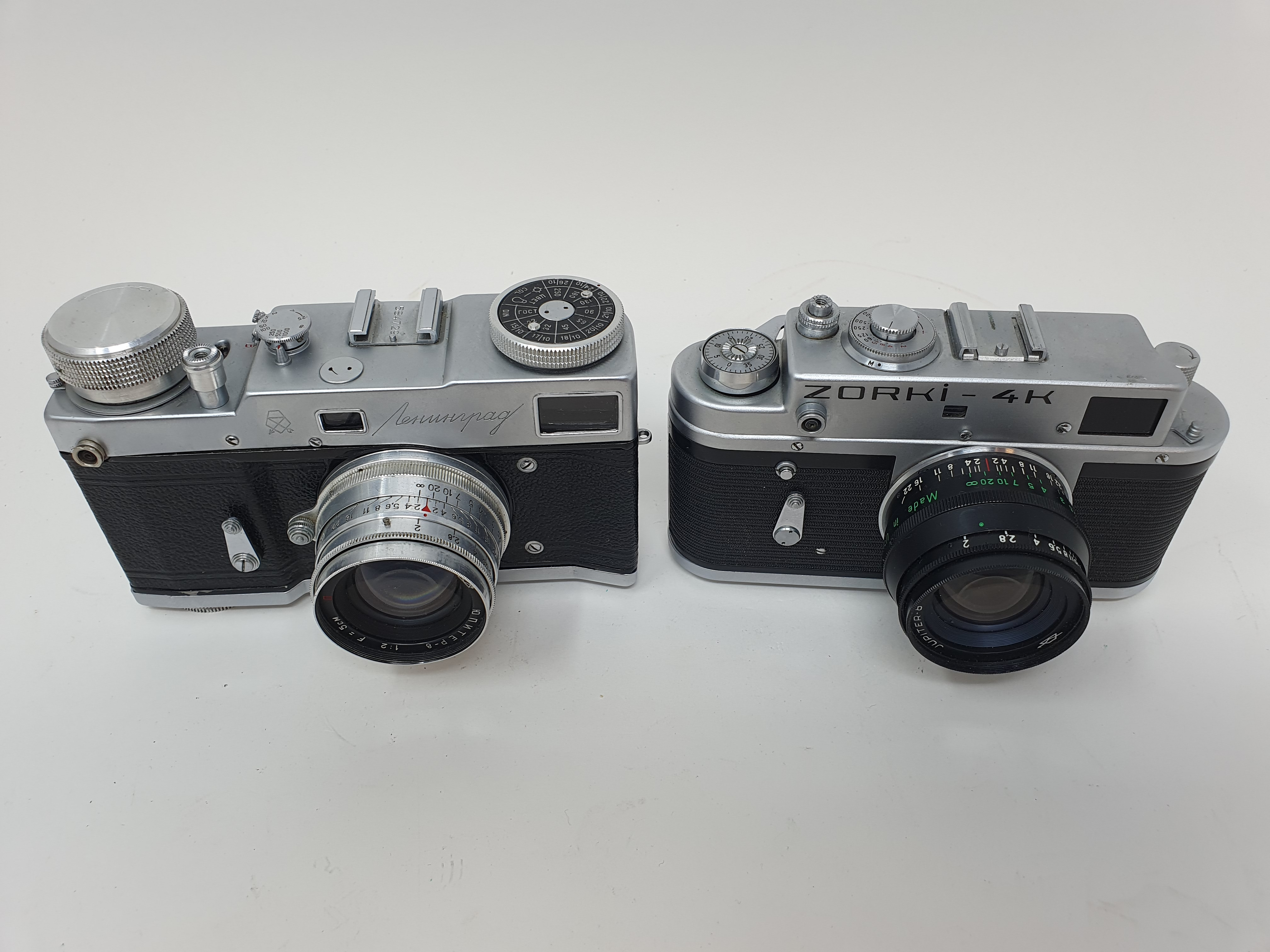 A Zorki-4K camera and a Russian camera (2) Provenance: Part of a vast single owner collection of - Image 2 of 4