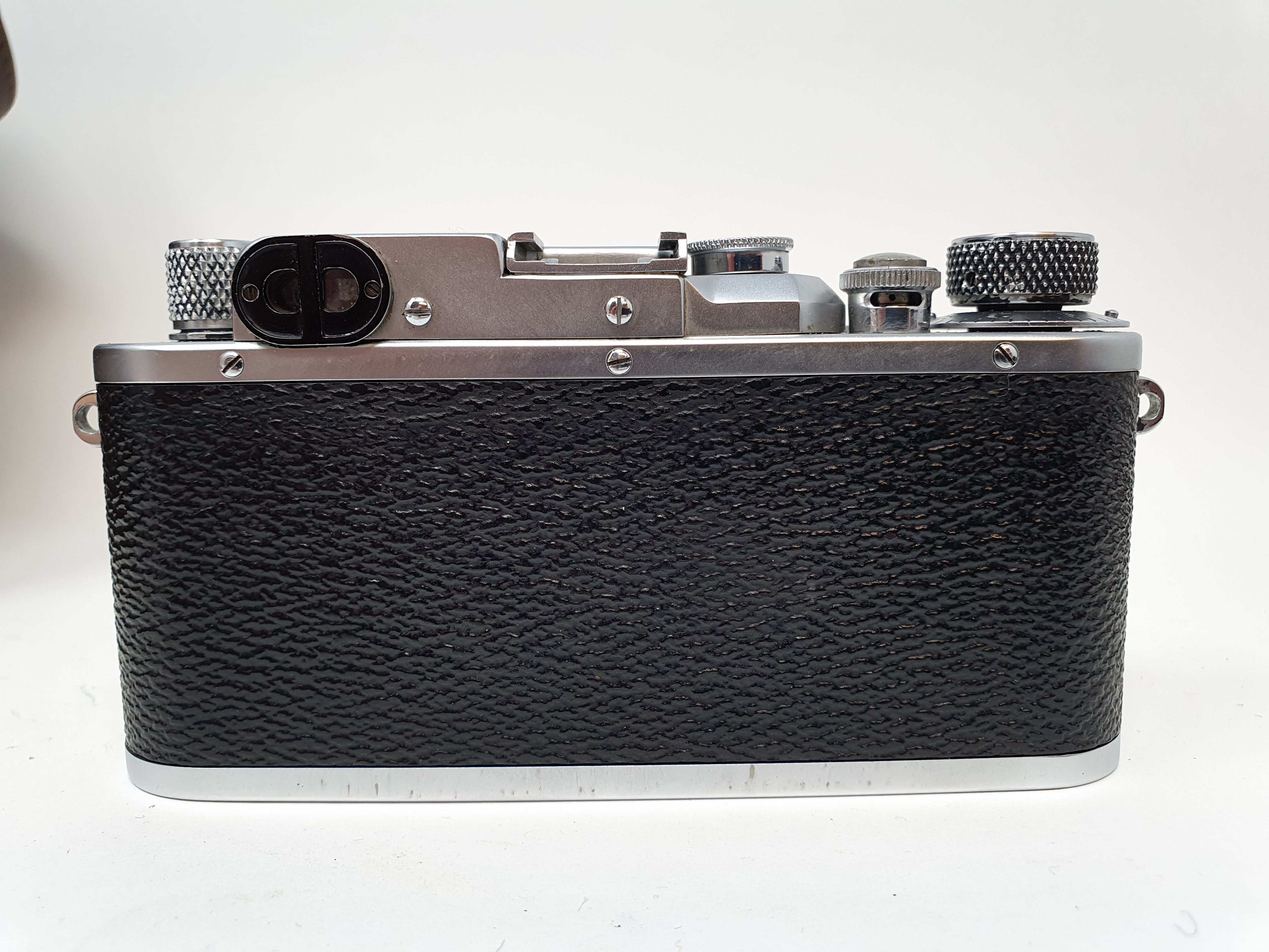 A Reid & Sigrist ltd camera, serial number P2750, with leather outer case, lens, and accessories - Image 4 of 7