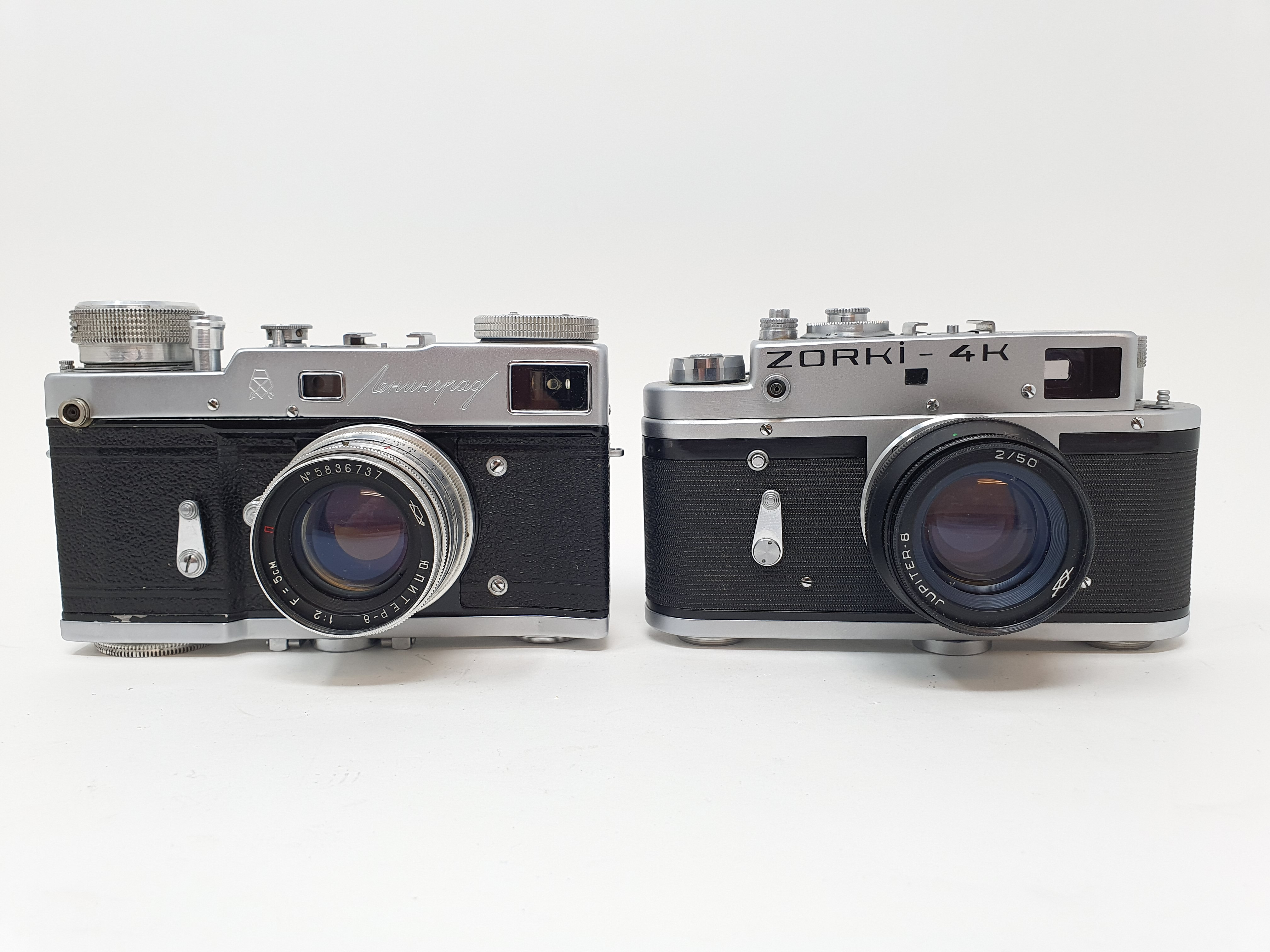 A Zorki-4K camera and a Russian camera (2) Provenance: Part of a vast single owner collection of