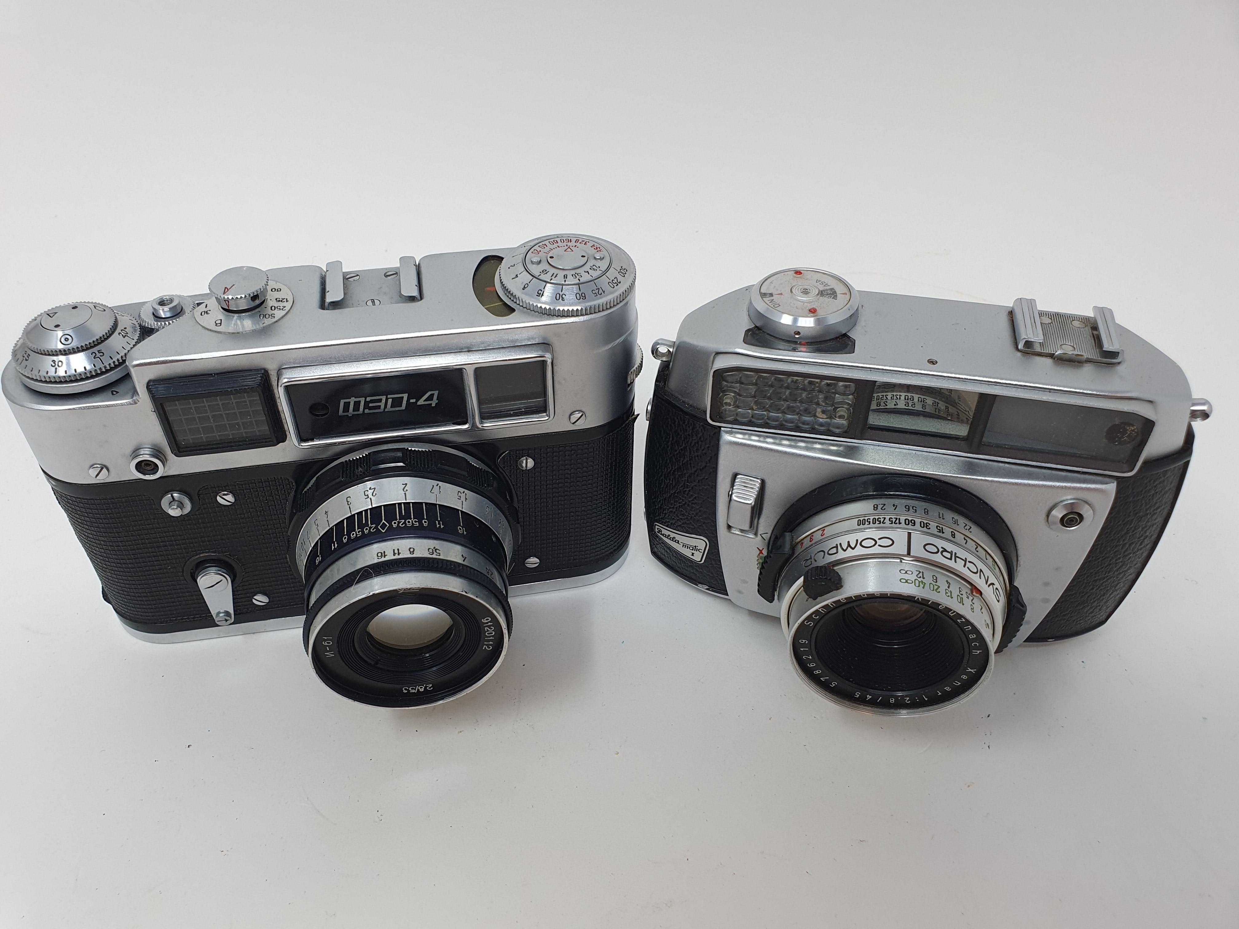 A Badda Matic II camera and a Russian camera (2) Provenance: Part of a vast single owner - Image 2 of 2