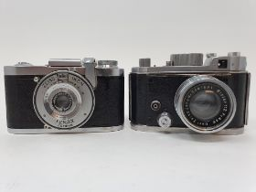 A Robot camera and a Zeiss Ikon Tenax (2) Provenance: Part of a vast single owner collection of