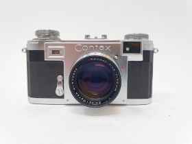 A Zeiss Ikon Contax camera Provenance: Part of a vast single owner collection of cameras, lenses and