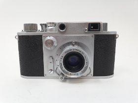 A Minolta-35, serial number 11285 Provenance: Part of a vast single owner collection of cameras,