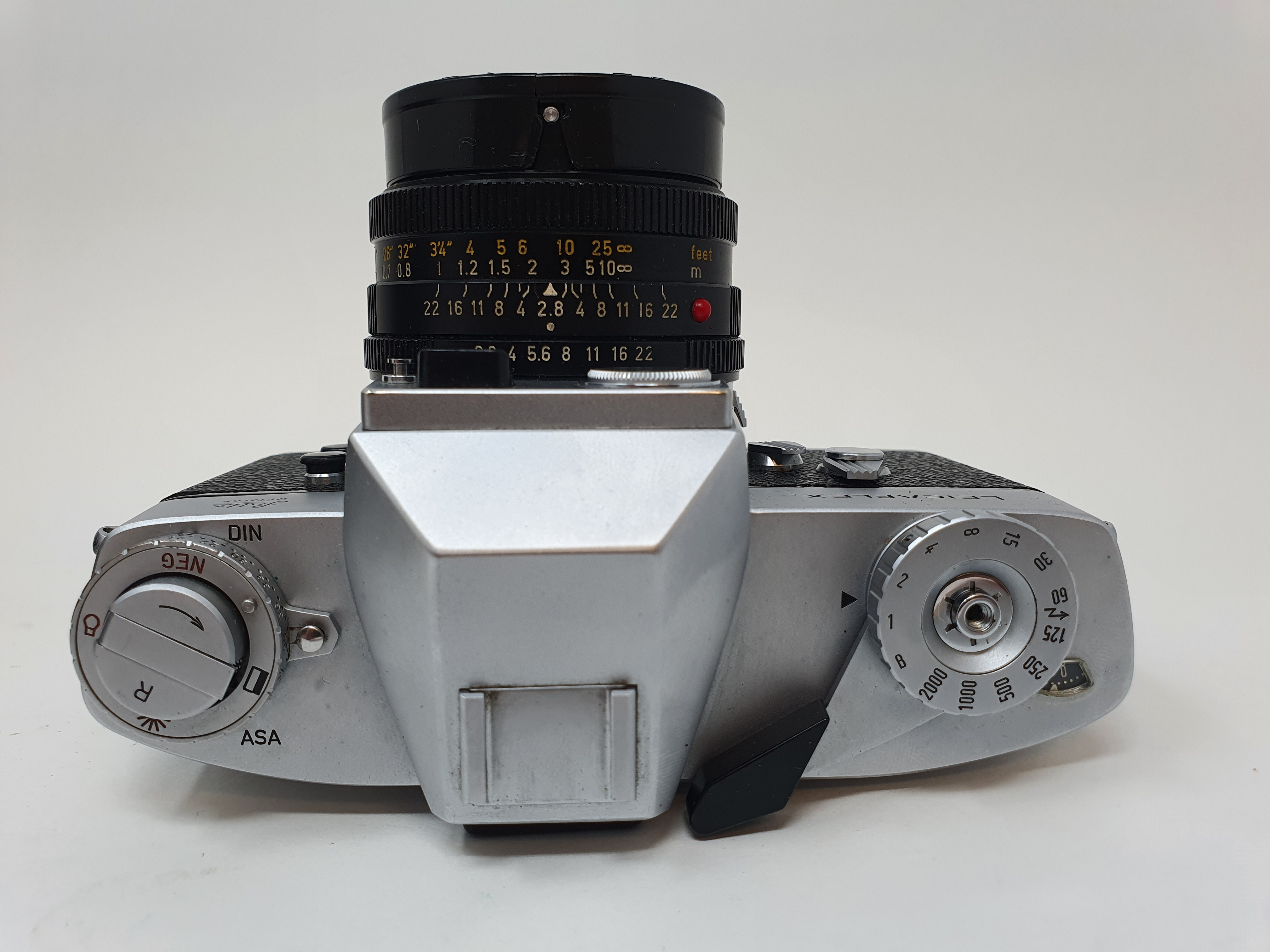 A Leica Leicaflex camera, serial number 1115659, with leather outer case Provenance: Part of a - Image 3 of 5
