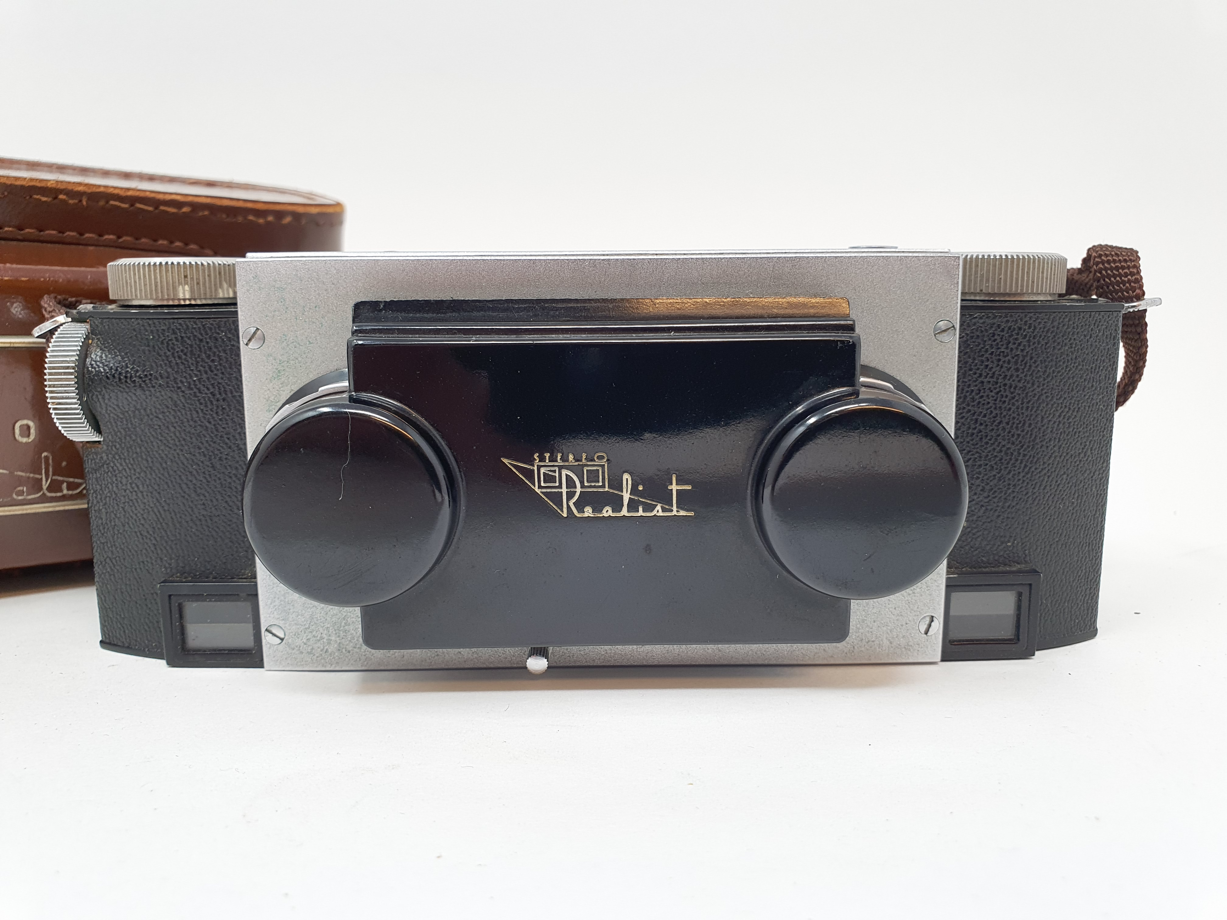 A Stereo Realist camera, with leather outer case Provenance: Part of a vast single owner - Image 3 of 6
