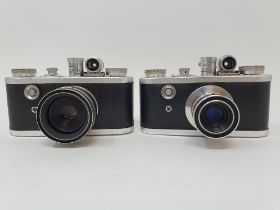 A Corfield Periflex camera and another (2) Provenance: Part of a vast single owner collection of
