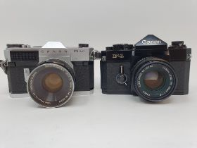 A Canon RM camera and a Canon F-1 camera (2) Provenance: Part of a vast single owner collection of