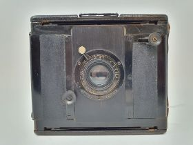 A C. P. Goerz folding camera Provenance: Part of a vast single owner collection of cameras, lenses