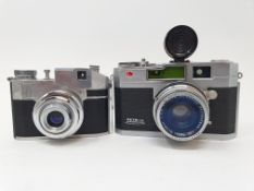 A Petri 2.8 camera and a CMF Comet II camera (2) Provenance: Part of a vast single owner
