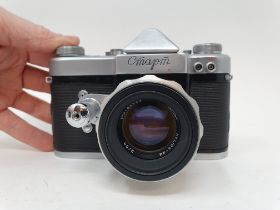A Russian Cmapm camera, serial number 6004607 Provenance: Part of a vast single owner collection