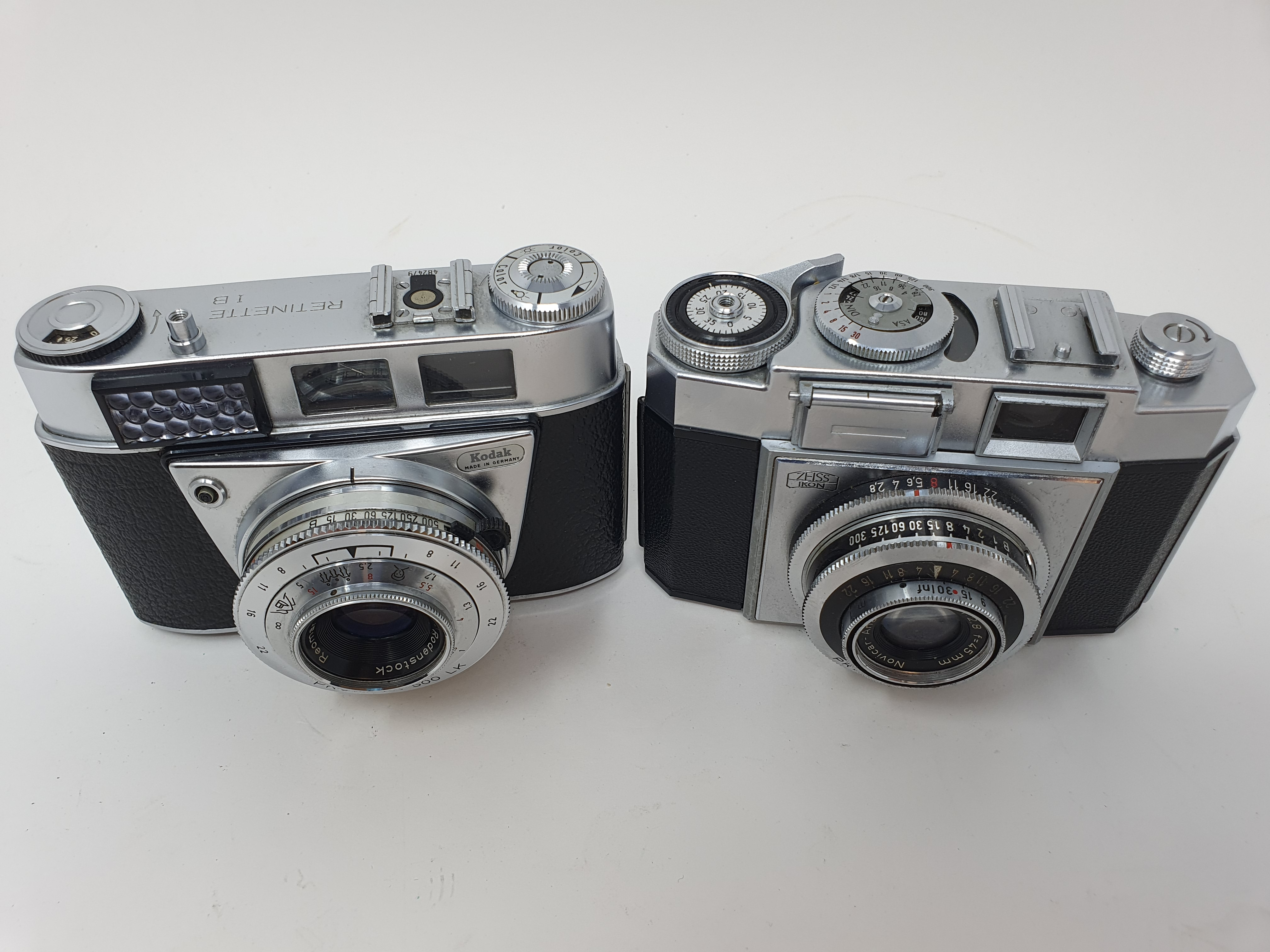 A Kodak Retinette 1 B camera and a Zeiss Ikon camera (2) Provenance: Part of a vast single owner - Image 2 of 4