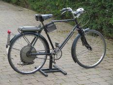 1954 BSA Winged Wheel Registration number 636 XUX Frame number L52117 Engine number MBW 16823