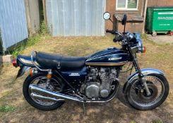 1975 Kawasaki Z1B Registration number KYF 715P Frame number Z1F 83308 Engine number Z1E 083624 43,