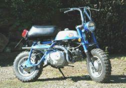 1969 Honda Z50A K1 Frame number Z50A-232586 Engine number Z50AE-222798 Genuine 1969 Honda Z50A K1