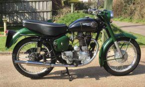 1959 Royal Enfield Clipper 350 Registration number USK 268 Frame number 43002 Engine number E 969