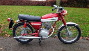 1973 Honda CB 125 S Registration number PHW 855M Frame number CB 125 1035247 Engine number CB 125