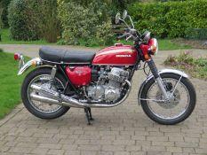 1971 Honda CB 750 K1 Registration number WWT 981J Frame number CB750-1076368 Engine number CB750-