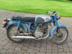 1968 Honda CD175 Frame number TBA Engine number CD 175E 1013132 25,184 recorded miles From