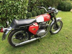 1966 BSA Spitfire Registration number AVG 924D Frame number A65S 10767 Engine number A65S 10767 12,