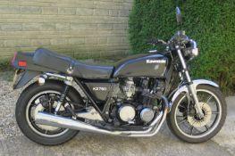 1980 Kawasaki KZ750 Registration number KFX 923V Frame number KZ750 E008157 Engine number KZ750 EE