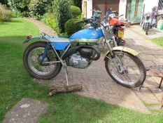 1973 Bultaco Sherpa Registration number VBG 11M Frame number 9101041 Engine number 8101029