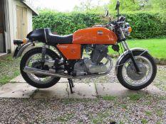 1973 Laverda SF1 Registration number EVN 841 L Frame number 12904 Engine number 12904 21,534