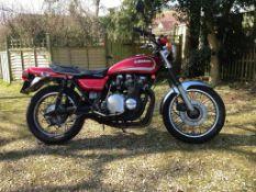 1976 Kawasaki Z900 Frame number Z1F 116638 Engine number Z1E 119154 Registration ORC 581P The