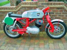 1958 NSU Max Race bike Frame number N/A Engine number 3235050 Very well English built frame made