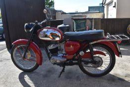 1966 BSA Bantam D7 De-Luxe Registration number FPR 975E Frame number GD77603 Engine number GD77603
