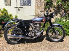 1953 BSA DBD 34 Gold Star Registration number 571 XVP Frame number TBA Engine