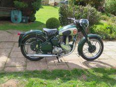 1955 BSA B31 Registration number UYB 734 Frame number BB31 S12434 Engine number BB31 16274 24,065