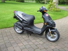 1997 Suzuki AY50 Katana scooter Unregistered Engine number A181 103331 215 recorded miles
