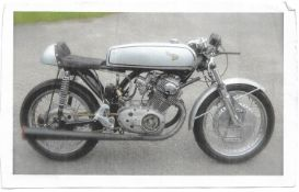 1961 Honda CB77 Built by the owner over a four year period as a CR77 race bike Fitted 35 mm